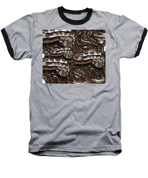 S Is For Snakes Baseball T-Shirt