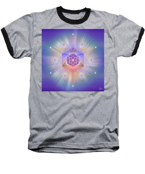 Sacred Geometry 734 Baseball T-Shirt