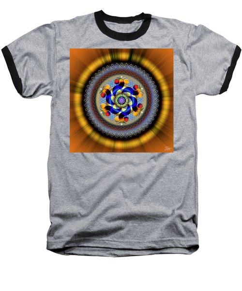Sacred Geometry 740 Number 1 Baseball T-Shirt