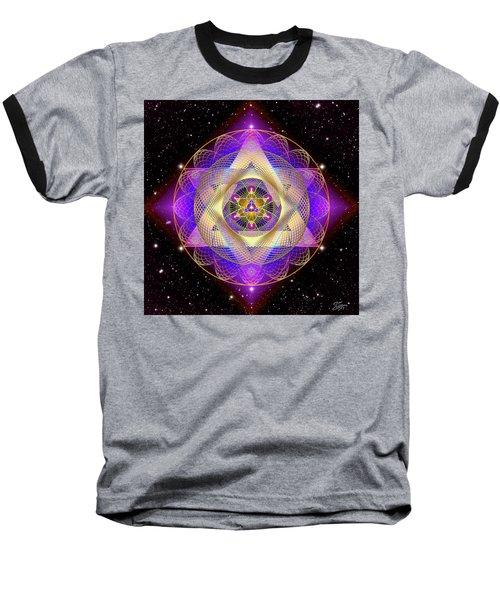 Sacred Geometry 741 Baseball T-Shirt
