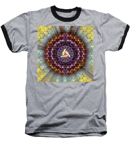 Sacred Geometry 742 Baseball T-Shirt
