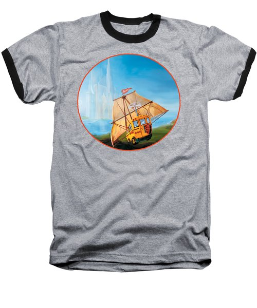 Sailbus Baseball T-Shirt