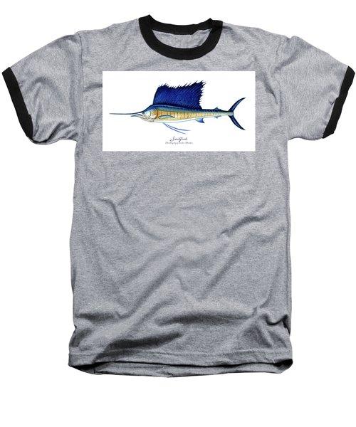 Sailfish Baseball T-Shirt