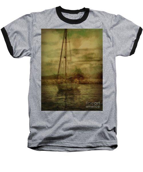 Baseball T-Shirt featuring the photograph Sailing by Leigh Kemp