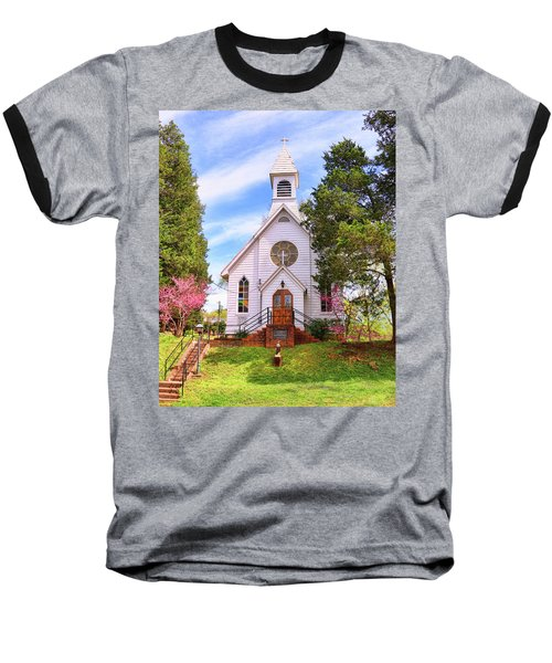 Saint Joseph Roman Catholic Church In Columbia Virginia Baseball T-Shirt