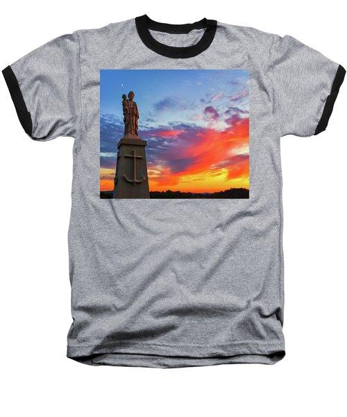 Saint Joseph Sunset  Baseball T-Shirt