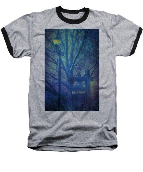 Salem Massachusetts  Witch House Baseball T-Shirt