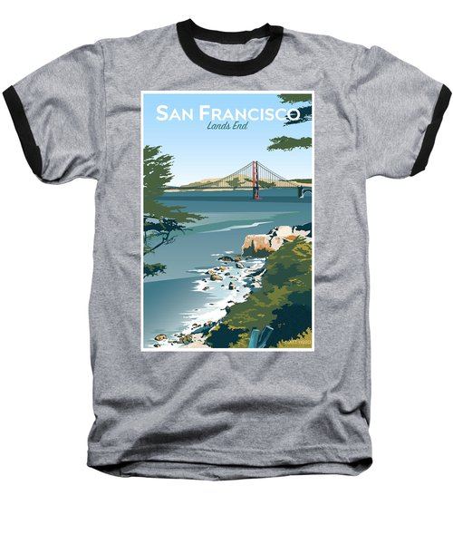 San Francisco Lands End Baseball T-Shirt