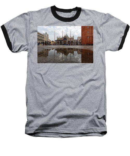 San Marco Cathedral Venice Italy Baseball T-Shirt