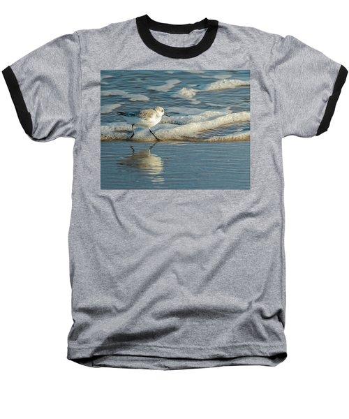 Sanderling At Assateague Island National Seashore Baseball T-Shirt