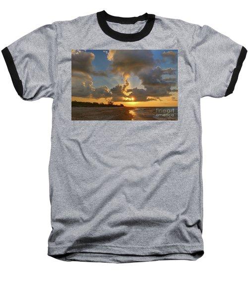 Sanibel Island Sunrays Baseball T-Shirt