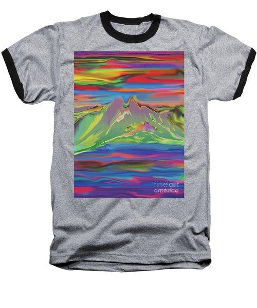 Santa Fe Sunset Baseball T-Shirt