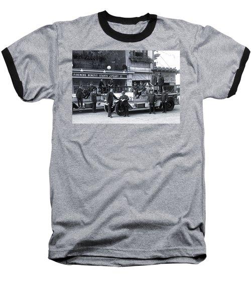 Santa Monica Firemen 1920 Baseball T-Shirt