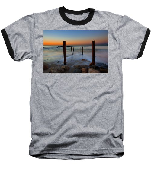 Santa Monica Sunrise Baseball T-Shirt