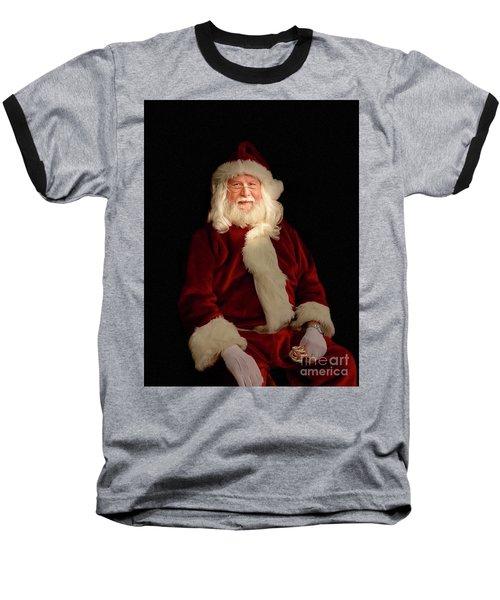 Santa Baseball T-Shirt