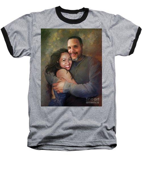 Sara And Ahmed Baseball T-Shirt