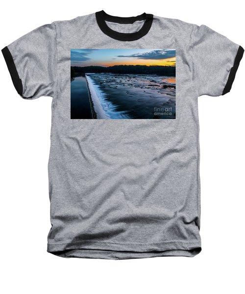 Savannah Rapids Sunrise - Augusta Ga Baseball T-Shirt