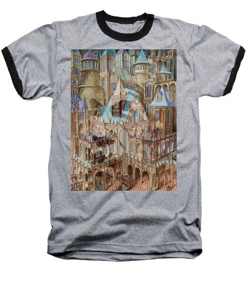 Science City Baseball T-Shirt