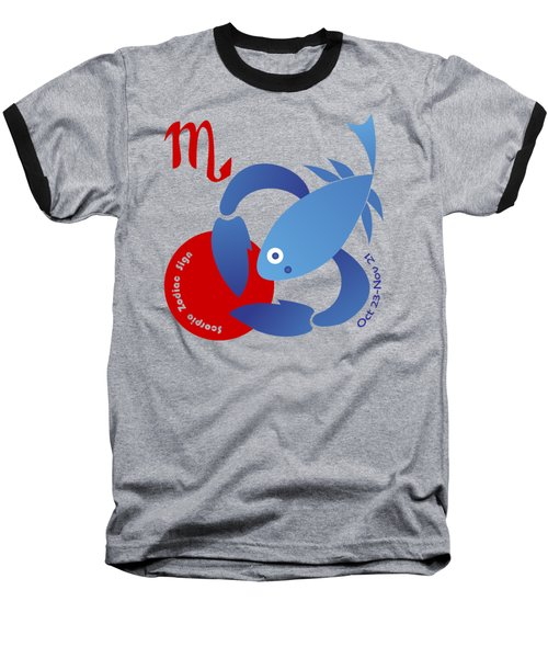 Scorpio -  Scorpion Baseball T-Shirt