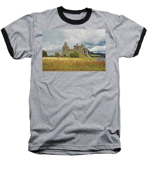 Scotland. Loch Awe. Kilchurn Castle. Baseball T-Shirt
