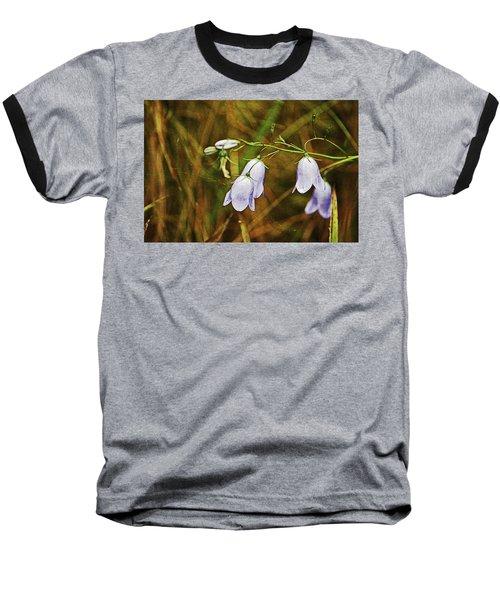 Scotland. Loch Rannoch. Harebells In The Grass. Baseball T-Shirt