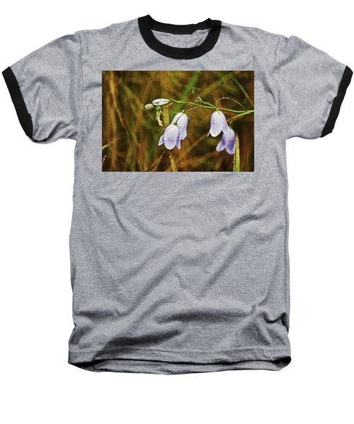 Scotland. Loch Rannoch. Harebells In The Grass. Baseball T-Shirt