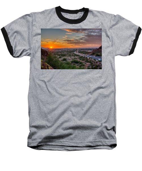 Scottsdale Sunset Baseball T-Shirt