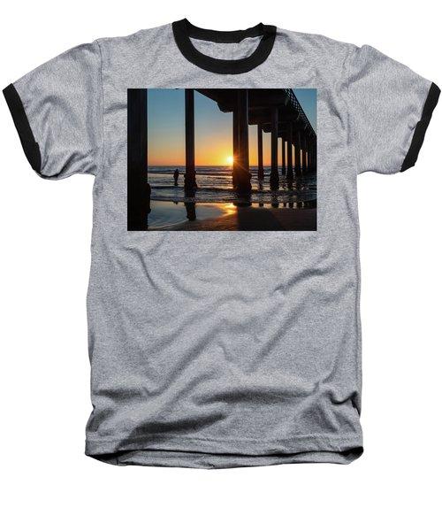 Scripps Pier Baseball T-Shirt