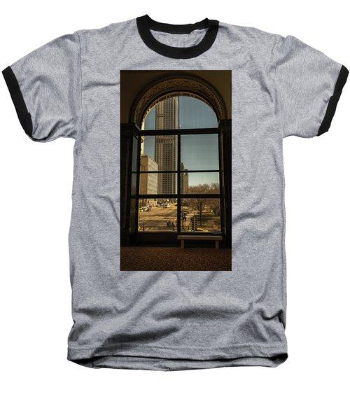 Sculpted View Baseball T-Shirt