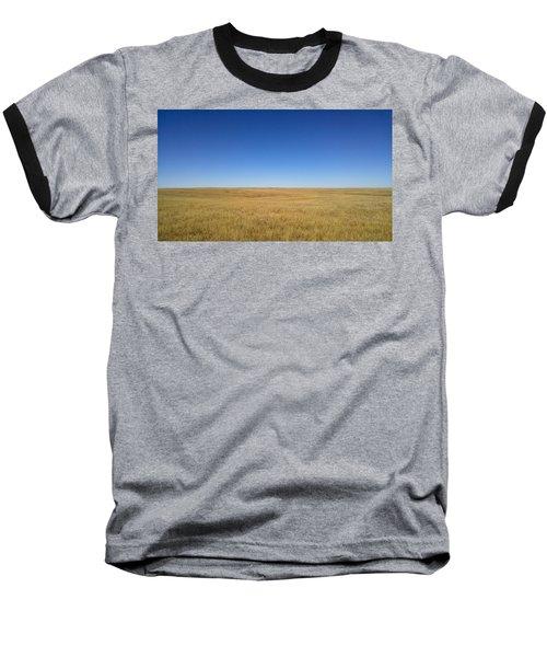 Sea Of Grass Baseball T-Shirt