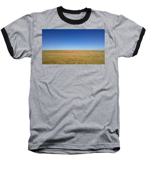 Sea Of Grass Baseball T-Shirt