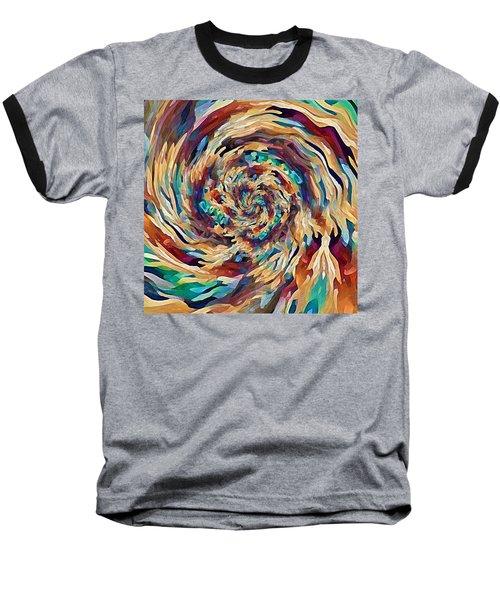 Sea Salad Swirl Baseball T-Shirt
