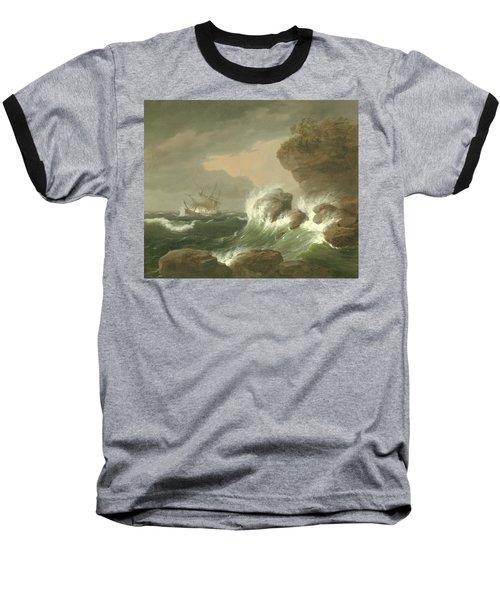Seascape, 1835 Baseball T-Shirt