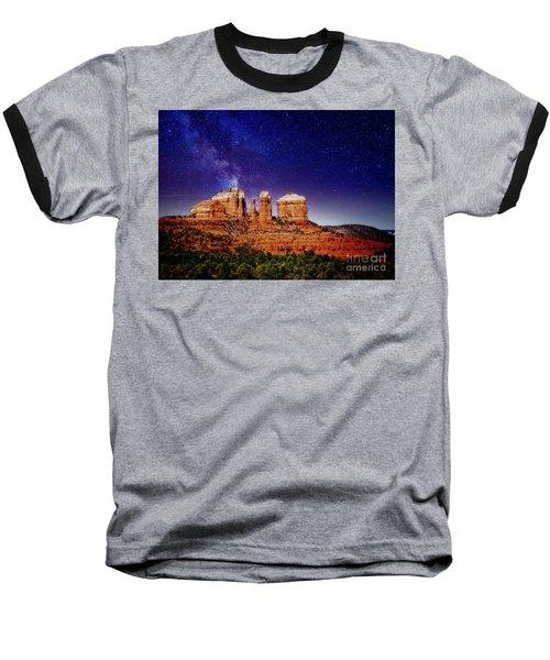 Sedona After Dark Baseball T-Shirt