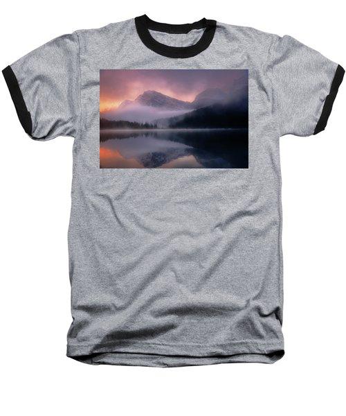 September Sunrise Banff Baseball T-Shirt