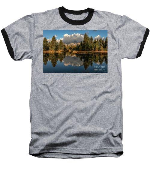 Serene At Schwabachers Landing Baseball T-Shirt