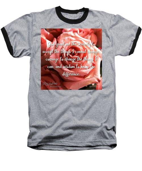 Serenity Prayer II Baseball T-Shirt