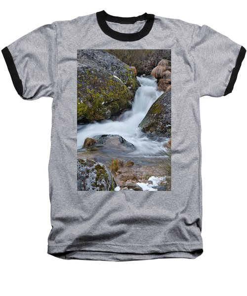 Serra Da Estrela Waterfalls. Portugal Baseball T-Shirt