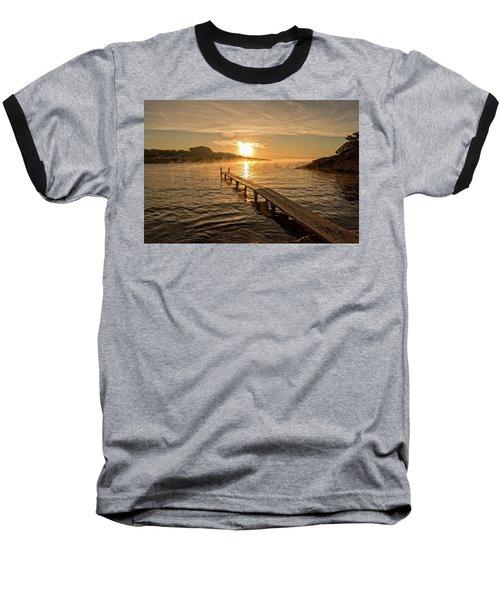 Sespanyol Beach In Ibiza At Sunrise, Balearic Islands Baseball T-Shirt