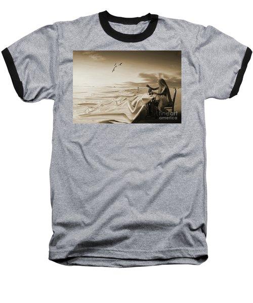 Sewing Sea Art 56 Baseball T-Shirt