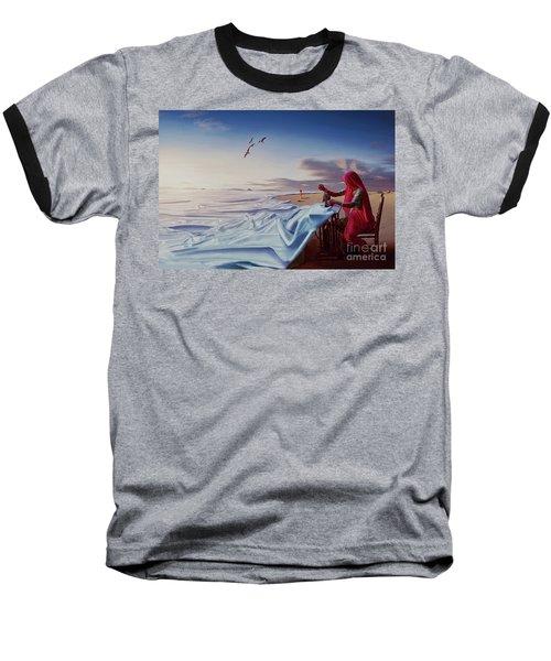 Sewing Sea  Baseball T-Shirt