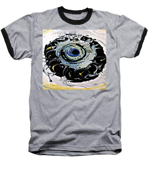 Baseball T-Shirt featuring the painting Sgc.m87  by 'REA' Gallery
