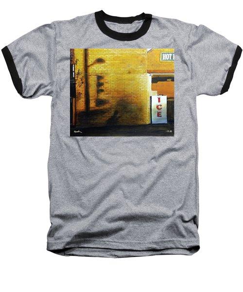 Shadows On The Wall Baseball T-Shirt