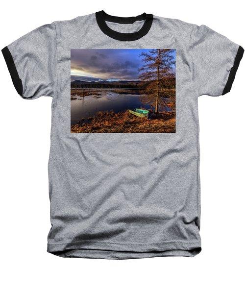 Shaw Pond Sunrise - Landscape Baseball T-Shirt