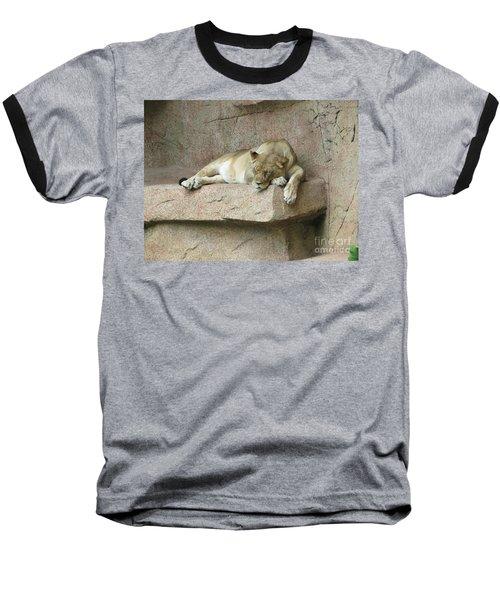She Lion Baseball T-Shirt
