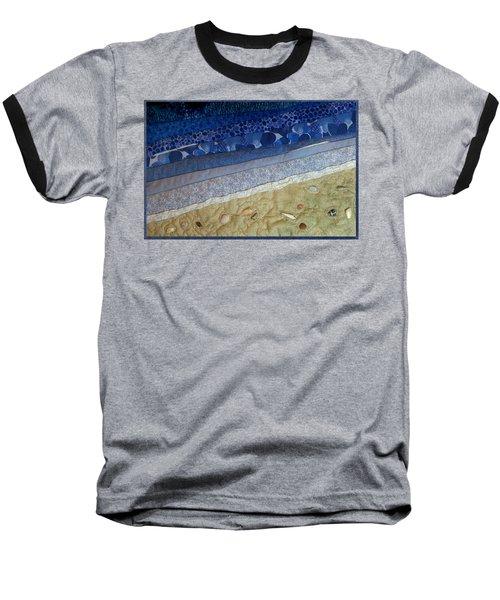 She Sews Seashells On The Seashore Baseball T-Shirt