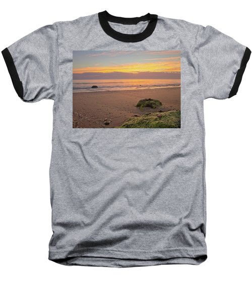 Shells On The Beach Baseball T-Shirt