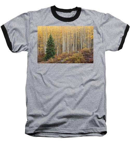 Shimmering Aspens Baseball T-Shirt