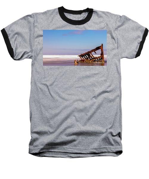 Ship Wreck Baseball T-Shirt