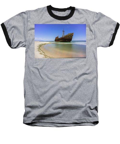 Shipwreck Dimitros Near Gythio, Greece Baseball T-Shirt
